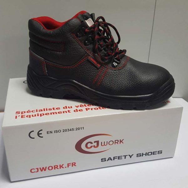 Chaussure Haute Cuir S1P - CJ287
