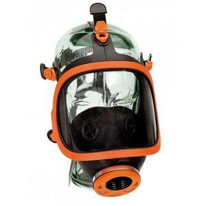 Masque Respiratoire Panoramique. Pièce Faciale En Caoutchouc