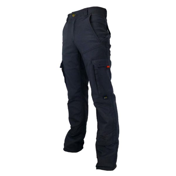 Pantalon Premium Coupe Ajustée Gris Coté