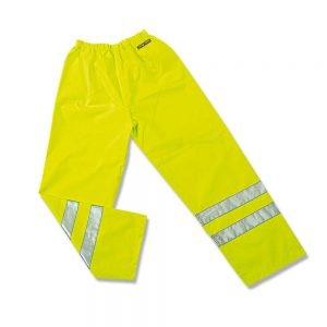 Pantalon de Pluie Haute Visibilité Jaune