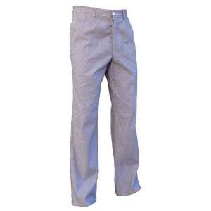 Pantalon Cuisine Pied de Poule 100% Coton